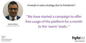 Sales Strategy during Pandemic