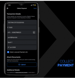 collect payment mobile app