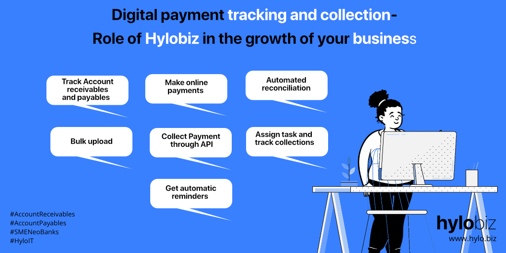 digital payment with hylobiz