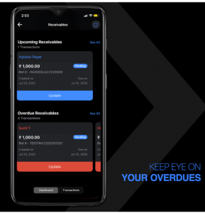 overdues mobile app
