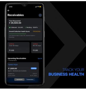 receivables mobile app