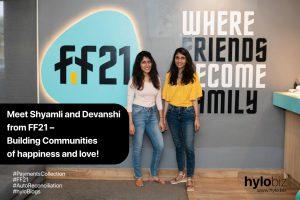 Shyamli and Devanshi from FF21